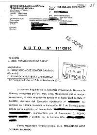 Auto Juzgado Primera Instancia 44 Barcelona vivienda como dación en pago